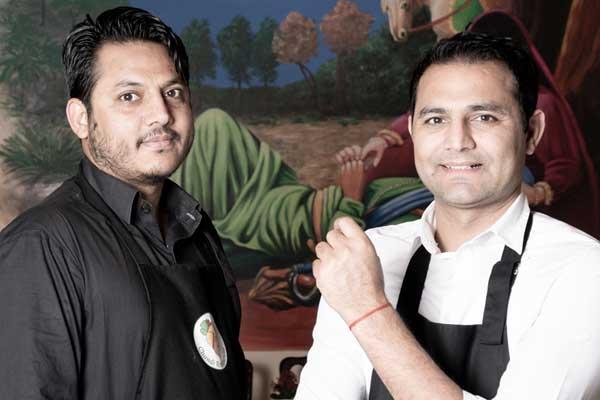 Adam Sandhu und Chandi, der Koch